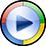 Icon representing Windows Media